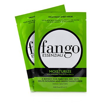 Borghese Fango Essenziali Moisturize Treatment Sheet Masks