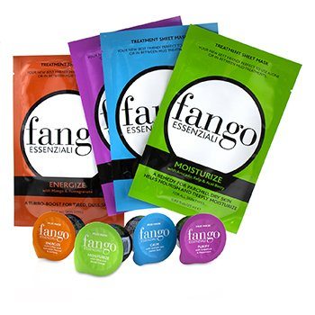 Borghese The Fango Essenziali Collection (4x Sheet Mask 25ml, 4x Mud Mask 25g)