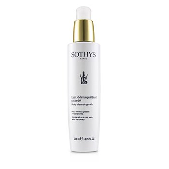 Sothys Purity Cleansing Milk - For Combination to Oily Skin , With Iris Extract