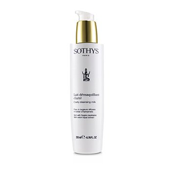 Sothys Clarity Cleansing Milk - For Skin With Fragile Capillaries , With Witch Hazel Extract