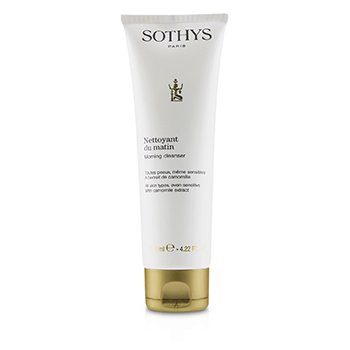 Sothys Morning Cleanser - For All Skin Types, Even Sensitive , With Camomile Extract