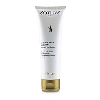 Sothys Purifying Foaming Gel - For Combination to Oily Skin, With Iris Extract