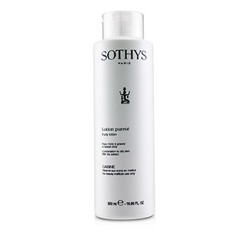 Sothys Purity Lotion - For Combination to Oily Skin , With Iris Extract (Salon Size)