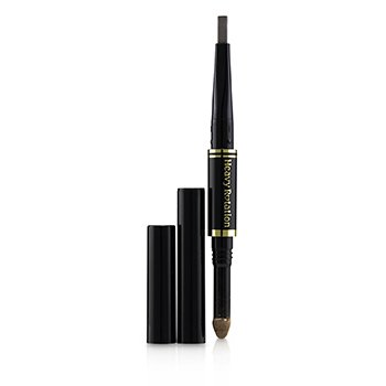 KISS ME Heavy Rotation Fit Fiber In Double Eyebrow Pencil - # 01 Natural Brown