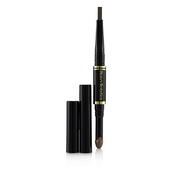 KISS ME Heavy Rotation Fit Fiber In Double Eyebrow Pencil - # 02 Dark Brown