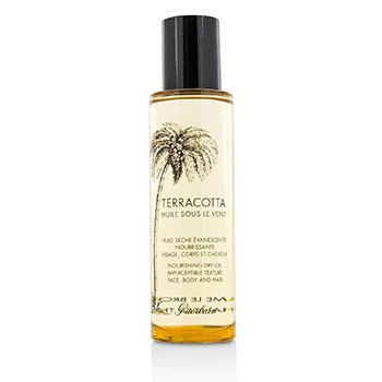 Guerlain Terracotta Nourishing Dry Oil - For Face, Body & Hair (Unboxed)