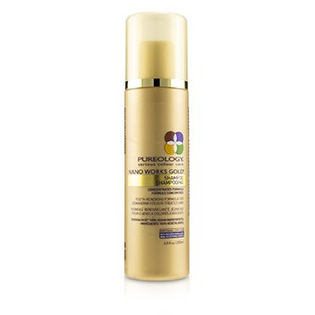 Pureology Nano Works Gold Shampoo (Youth-Renewing Formula For Demanding Colour-Treated Hair)