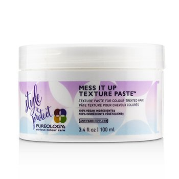 Pureology Style + Protect Mess It Up Texture Paste (For Colour-Treated Hair)