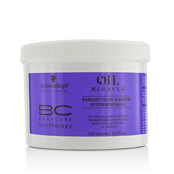 BC Bonacure Oil Miracle Barbary Fig Oil & Keratin Restorative Mask - For Very Dry and Brittle Hair (Exp. Date: 02/2020)