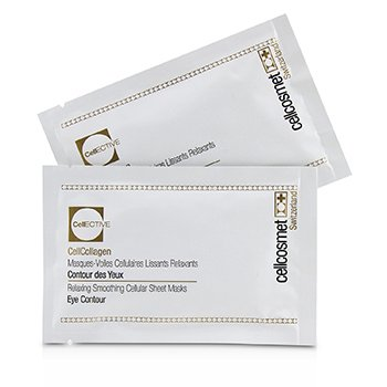Cellcosmet & Cellmen Cellcosmet CellEctive CellCollagen Eye Contour Relaxing Smoothing Cellular Sheet Masks