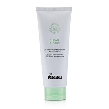 Dr. Brandt Clean Biotic PH-Balanced Yogurt Cleanser with Chlorophyll