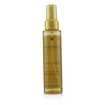 Solaire Sun Ritual Protective Summer Oil - Shiny Effect (Hair Exposed To The Sun)