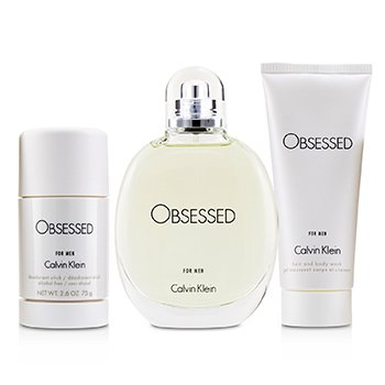 Calvin Klein Obsessed Coffret: Eau De Toilette Spray 125ml + Hair And Body Wash 100ml + Deodorant Stick 75ml