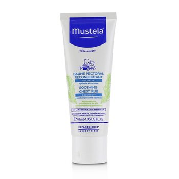 Mustela Soothing Chest Rub - Moisturizes & Soothes