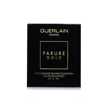 Guerlain Parure Gold Rejuvenating Gold Radiance Powder Foundation SPF 15 Refill - # 05 Dark Beige