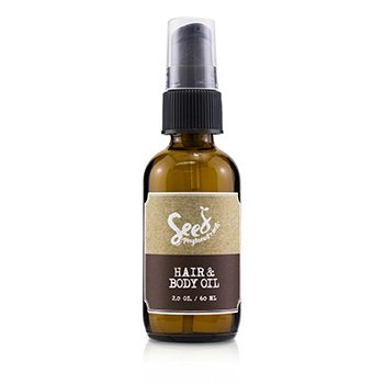 Seed Phytonutrients Hair & Body Oil (For Especially Dry Hair and Skin)