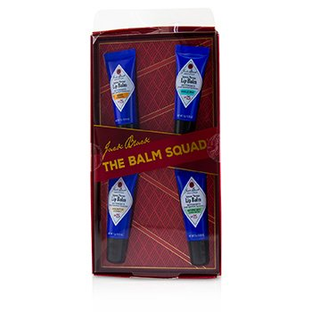 The Balm Squad Gift Set: Intense Therapy Lip Balm SPF25 (Box Slightly Damaged)