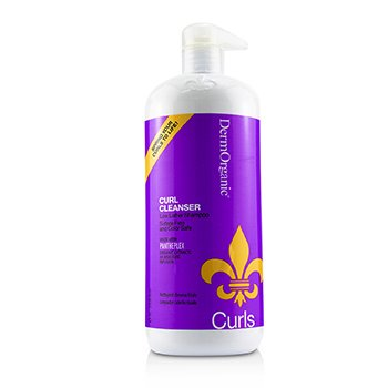 DermOrganic Curls Curl Cleanser (Low Lather Shampoo)