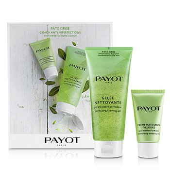 Payot Pate Grise Anti-Imperfections Coach Kit : 1x Foaming Gel 200ml + 1x Moisturising Matifying Care 50ml