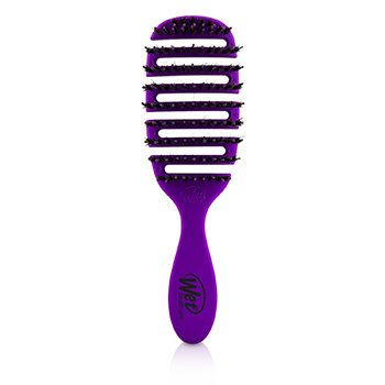 Wet Brush Pro Flex Dry Shine Enhancer Boar Bristle - # Purple