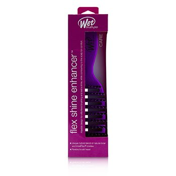 Pro Flex Dry Shine Enhancer Boar Bristle - # Purple (Box Slightly Damaged)