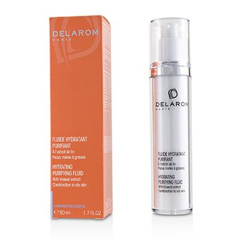 DELAROM Hydrating Purifying Fluid - For Combination to Oily Skin (Unboxed)