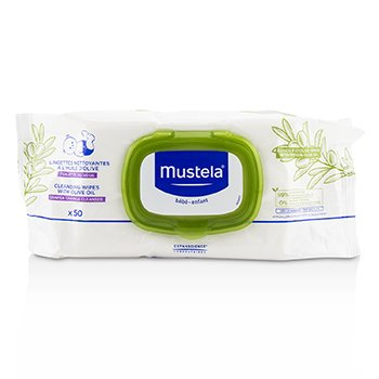 Mustela Stelatopia Replenishing Cleansing Wipes - For Face, Hands & Body