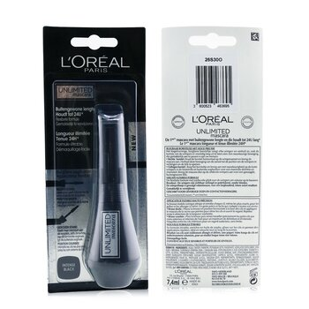 LOreal Unlimited Mascara - # Intense Black