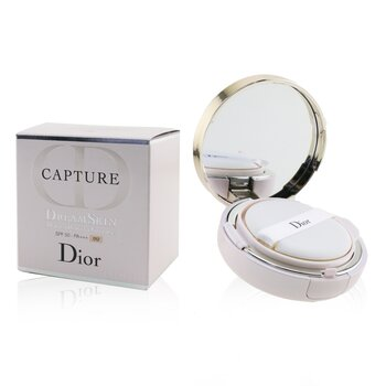Christian Dior Capture Dreamskin Moist & Perfect Cushion SPF 50 With Extra Refill - # 012 (Porcelaine)