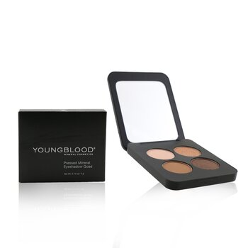 Youngblood Pressed Mineral Eyeshadow Quad - Sweet Talk