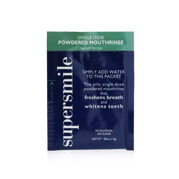 Supersmile Single Dose Powdered Mouthrinse (No Alcohol/Sugar)