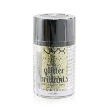 NYX Face & Body Glitter Brillants - # 05 Gold