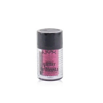 NYX Face & Body Glitter Brillants - # 09 Red