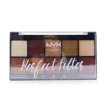 NYX Perfect Filter Shadow Palette - # Rustic Antique