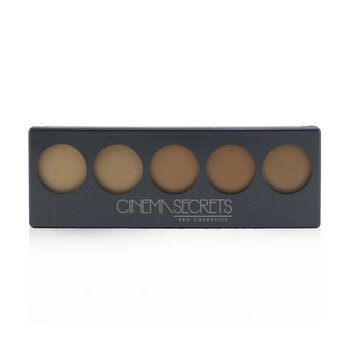 Cinema Secrets Ultimate Foundation 5 In 1 Pro Palette - # 400 Series (Medium Peach Beige Undertones)