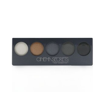 Cinema Secrets Ultimate Eye Shadow 5 In 1 Pro Palette - # Smokey Collection