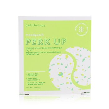 Patchology Moodpatch - Perk Up Energizing Tea-Infused Aromatherapy Eye Gels (Green Tea+Bergamot+White Mulberry)
