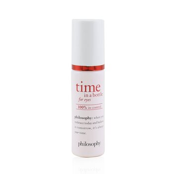 Philosophy Time In A Bottle For Eyes Serum - 100% In-Control