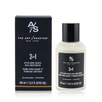 The Art Of Shaving 2 In 1 After-Shave Balm & Daily Moisturizer - Olibanum + Pepper