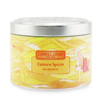The Candle Company (Carroll & Chan) 100% Beeswax Tin Candle - Eastern Spices