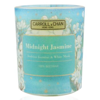 The Candle Company (Carroll & Chan) 100% Beeswax Votive Candle - Midnight Jasmine