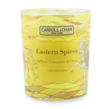 The Candle Company (Carroll & Chan) 100% Beeswax Votive Candle - Eastern Spices