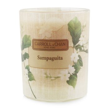 The Candle Company (Carroll & Chan) 100% Beeswax Votive Candle - Sampaguita