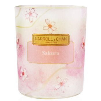 The Candle Company (Carroll & Chan) 100% Beeswax Votive Candle - Sakura