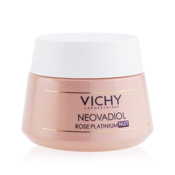 Vichy Neovadial Rose Platinium Revitalizing & Replumping Night Care (Night Cream) (For Mature & Dull Skin)