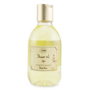 Sabon Shower Oil - Green Rose (Plastic Bottle)