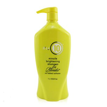 Its A 10 Miracle Brightening Shampoo (For Blondes)