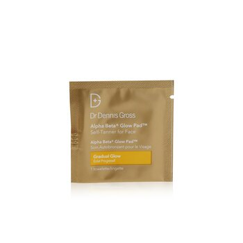 Dr Dennis Gross Alpha Beta Glow Pad For Face - Gradual Glow (Box Slightly Damaged)