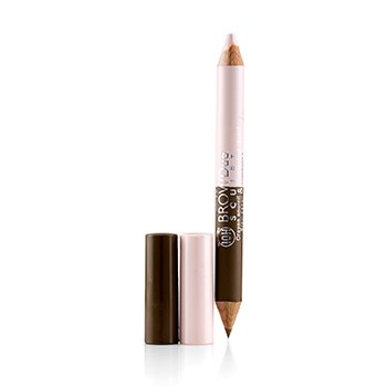 Bourjois Brow Duo Sculpt 2 In 1 Eyebrow Pencil And Highlighter - # 21 Blond