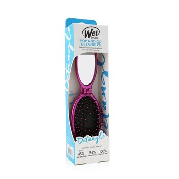 Wet Brush Pop and Go Detangler Metallic - # Pink